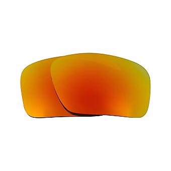 Replacement Lenses for Oakley Triggerman Sunglasses Red Mirror Anti-Scratch Anti-Glare UV400 by SeekOptics