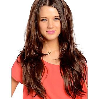 Angelina 2 Way Straight/Flicky Extreme Volume 3/4 Wig