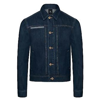 B&C Denim B&C Mens Frame Denim Trucker Jacket
