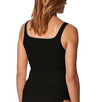 Mey 25110-3 Frauen Noblesse schwarz einfarbig Tanktop Weste
