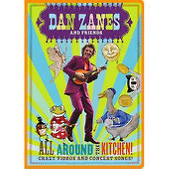 Zanes, Dan & Friends - All Around the Kitchen! [DVD] USA import