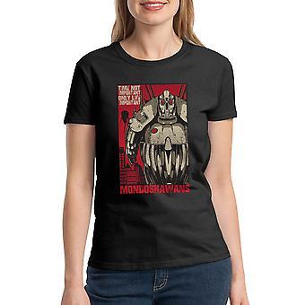 Le cinquième élément temps T-shirt noir féminin pas Important