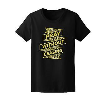 Inspiration Pray Without Ceasing Tee Women's -Image by Shutterstock