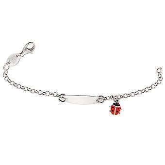 Scout Children ID bracelet engraved kids bracelet Ladybird girl 260200100