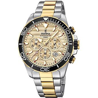 フェスティナ メンズ腕時計クロノグラフ F20363 1