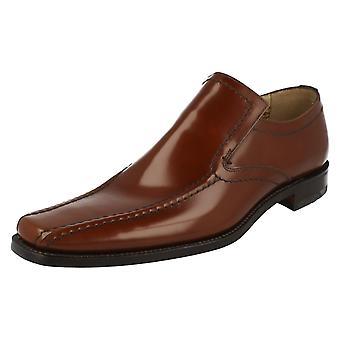 Mens Loake formelle Slip On chaussures Leon