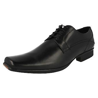 Mens Clarks формальных зашнуровать обувь Аскар ходьбы
