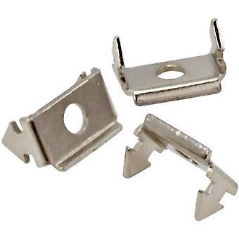 Conectores MH 2802-0001-04 Bloqueo de la clavación Plata 1 ud(s)