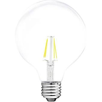 Müller Licht LED EEC A++ (A++ - E) E27 Globe 4 W = 37 W Warm white (Ø x L) 95 mm x 140 mm Filament 1 pc(s)