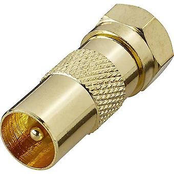 Renkforce RF-4196970 Satellite/Antenna Adapter (gold-plated) Renkforce