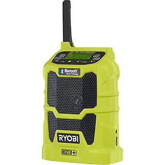 Ryobi R18R-0 One+ FM Bluetooth, USB, AUX Light green