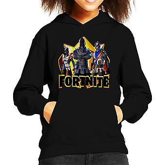 Fortnite Knight Zırh Skins Kid's Kapüşonlu Sweatshirt
