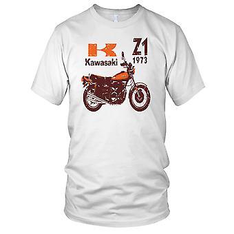 Kawasaki Z1 73 klassisk cykel Mens T Shirt