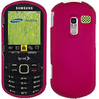 Wireless Rubber Case for Samsung M570 Restore - Hot Pink