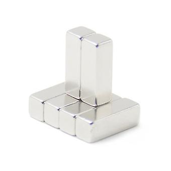 Neodymium magnet 30 x 10 x 10 mm block N35 - 100 pieces