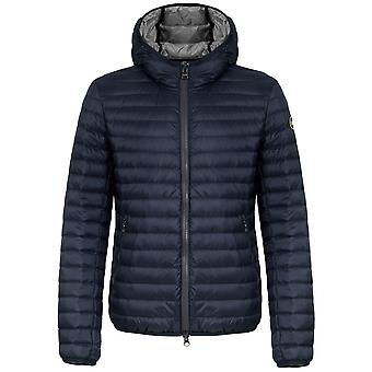Colmar Navy Lightweight Down Hooded Jacket