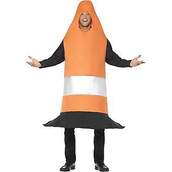 Kaupankäynti kartio puku, oranssi, Tabard