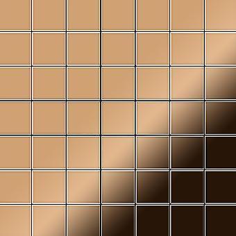 Metal mosaic Titanium ALLOY Attica-Ti-AM