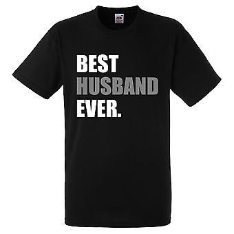 Black Best Husband Ever Black Tshirt