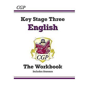 KS3 Englanti työkirjan (avulla tottelee nimeä) (tarkistettu painos) CGP kirjat -