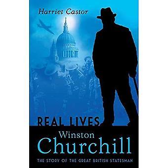 Winston Churchill: Berättelsen om den fantastiska brittisk statsmannen (liv i aktion)