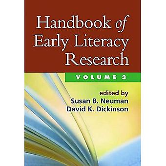 Handbook of Early Literacy Research, volym 3