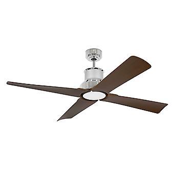 Ventilateur de plafond DC Winche Chrome avec la lumière DEL