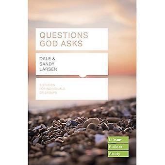Spør spørsmål Gud (Lifebuilder Bibelen studien guider)