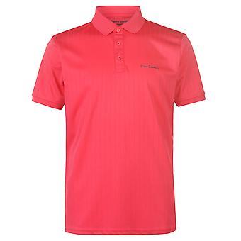 Pierre Cardin Mens Sports Poly Polo Shirt T Shirt T-Shirt Short Sleeve Tops