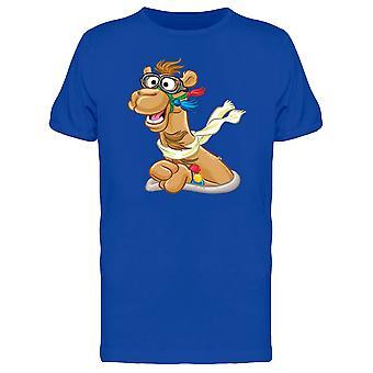 Lustige Kamel Kopf T-Shirt Herren-Bild von Shutterstock