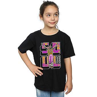Isaac Hayes meisjes ziel Pose T-Shirt