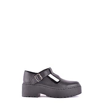 Jeffrey Campbell Ezbc132025 Women's Black Leather Ankle Boots