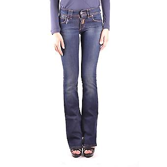 John Galliano Ezbc189021 Women's Blue Denim Jeans