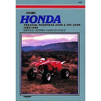 Honda TRX250R /Fourtrax 250R and ATC250R - 1985-89 - Clymer Workshop M