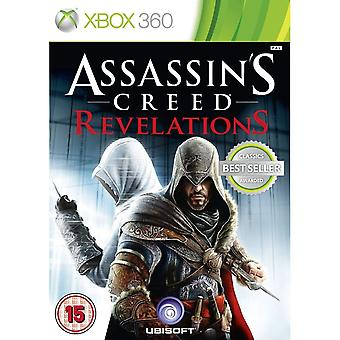 Assassins Creed Revelations Greatest Hits Xbox One Compatible Xbox 360 Game