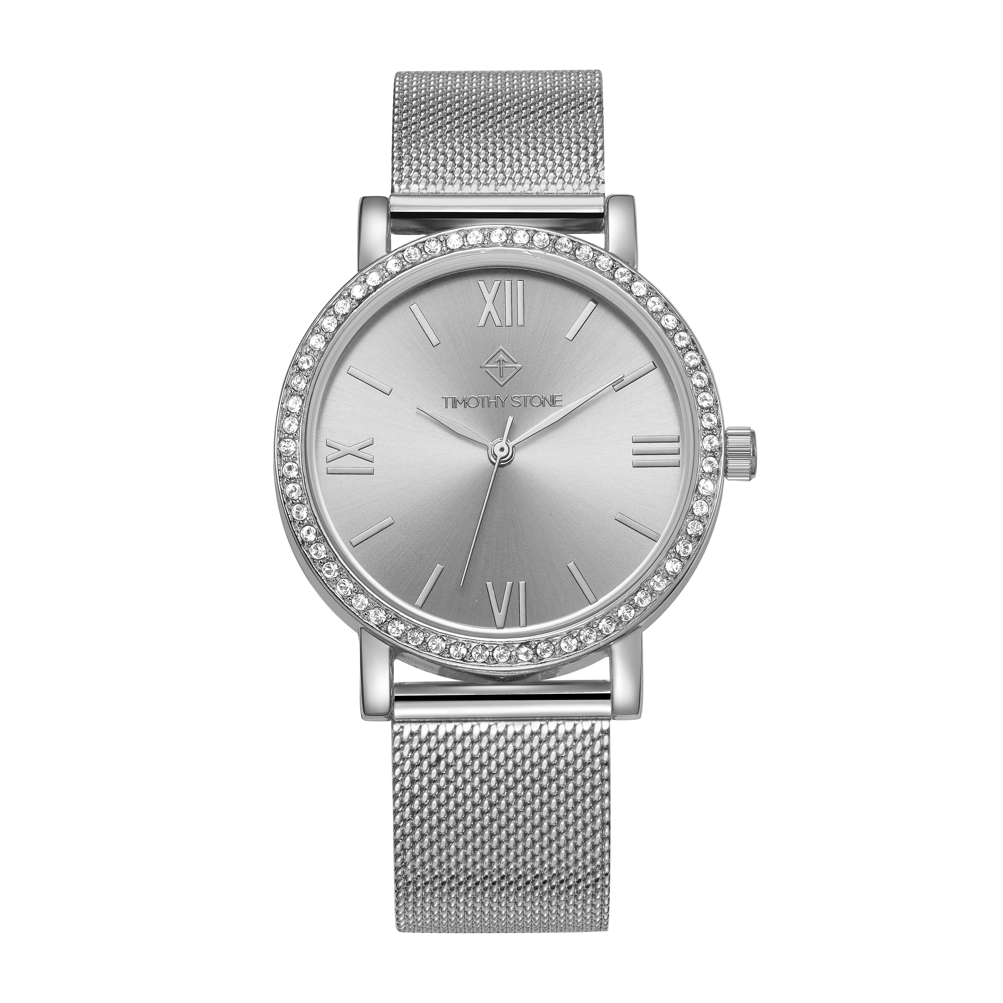 Timothy Stone Women�s INDIO Silver Watch