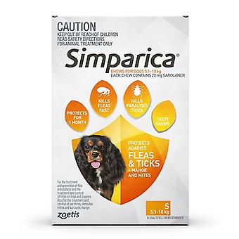 Simparica for Dogs 5-10 kg (11.1-22 lbs) - 3 Pack