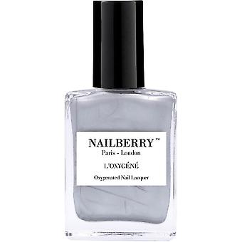 NailBerry Oxygenated Nail Lacquer - Silver Lining 15ml