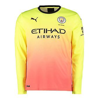 2019-2020 Manchester City Puma Third Long Sleeve Shirt