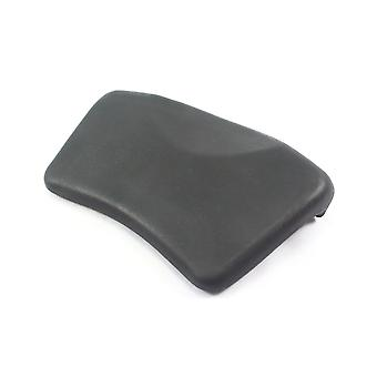 Small Grey Suction Whirlpool Bath Headrest Pillow