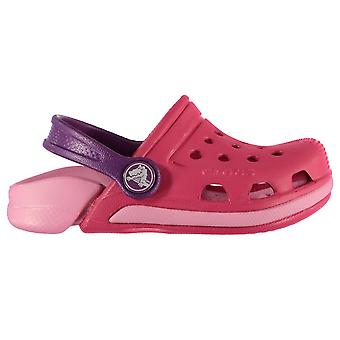 Crocs Kinder Electro3 Croc verstellbare Ferse Strap Sommer Schuhe Sandalen Cloggs