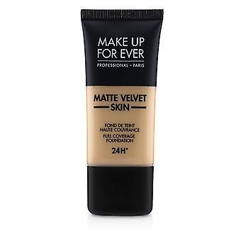 Matte Velvet Skin Full Coverage Foundation - # R260 (pink Beige) - 30ml/1oz