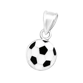 Football - 925 Sterling Silver Pendants - W15492x