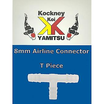 Kockney Koi 8mm Airline Connector - T Piece