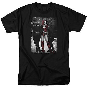 Harley Quinn und die Polizei Männer's T-Shirt