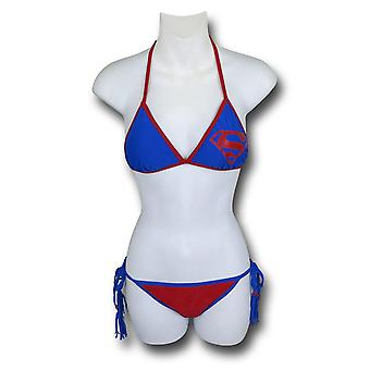 Superman Triangolo Tassel Stringa Bikini