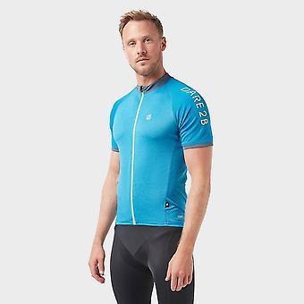 Neue Dare 2B Männer's Accurate Cycling Jersey Blau