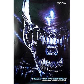 Alien Vs Predator (Alien Double Sided Advance) Original Cinema Poster Alien Vs Predator (Alien Double Sided Advance) Original Cinema Poster Alien Vs Predator (Alien Double Sided Advance) Original Cinema Poster Alien Vs