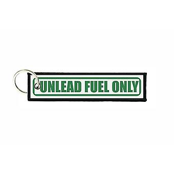 Porte cles aviation keychain voiture carburant unlead fuel only r4