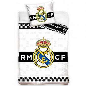 Real Madrid Einzelbett Set BW